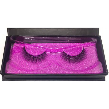 Synthetic silk eyelash No.6