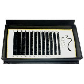 0.10 D MIX Synthetic silk lashes for eyelash extension