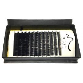 0.20 B MIX Synthetic silk lashes for eyelash extension