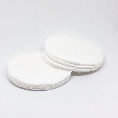 Oval makeup pads