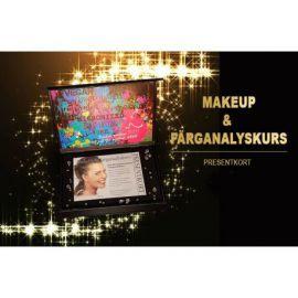 Presentkort - Makeup och färganalyskurs
