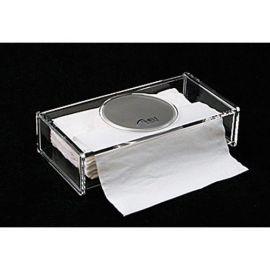 Servettbox i akryl med spegel