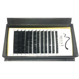 0.15 C MIX Synthetic silk lashes for eyelash extension