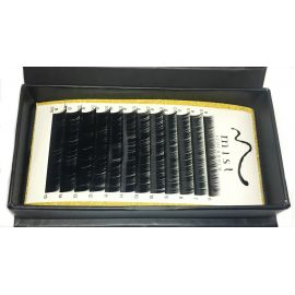 0.10 B MIX Synthetic silk lashes